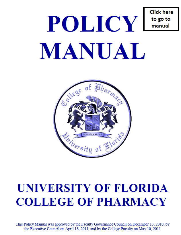 Policy Manual 1